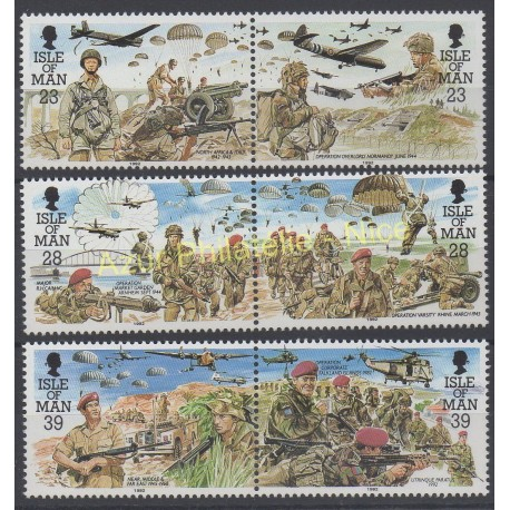 Man (Isle of) - 1992 - Nb 531/536 - Second world war