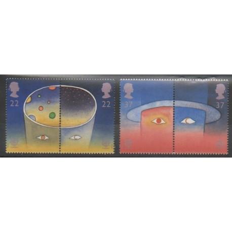 Grande-Bretagne - 1991 - No 1543/1546 - Espace - Europa
