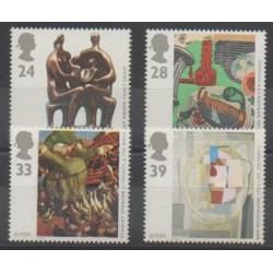 Grande-Bretagne - 1993 - No 1674/1677 - Art - Europa