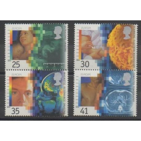 Grande-Bretagne - 1994 - No 1780/1783 - Santé ou Croix-Rouge - Europa