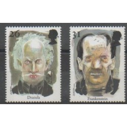 Grande-Bretagne - 1977 - No 1957/1958 - Littérature - Europa