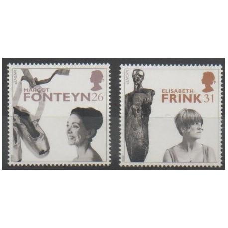 Grande-Bretagne - 1996 - No 1908/1909 - Célébrités - Europa