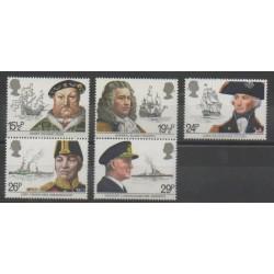 Grande-Bretagne - 1982 - No 1047/1051 - Navigation