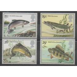 Grande-Bretagne - 1983 - No 1067/1070 - Animaux marins