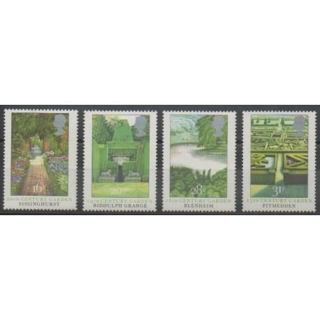 Grande-Bretagne - 1983 - No 1100/1103 - Flore