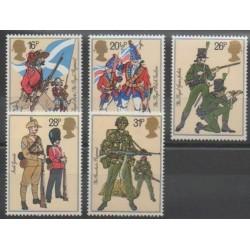 Grande-Bretagne - 1983 - No 1094/1098 - Histoire militaire