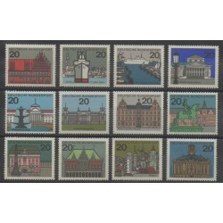 West Germany (FRG) - 1964 - Nb 288/295D - Monuments