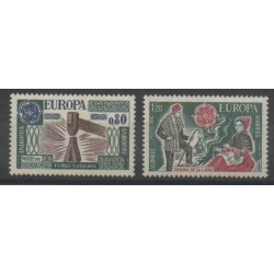 Andorre - 1976 - No 253/254 - Europa