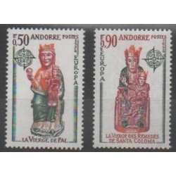 Andorre - 1974 - No 237/238 - Art - Europa
