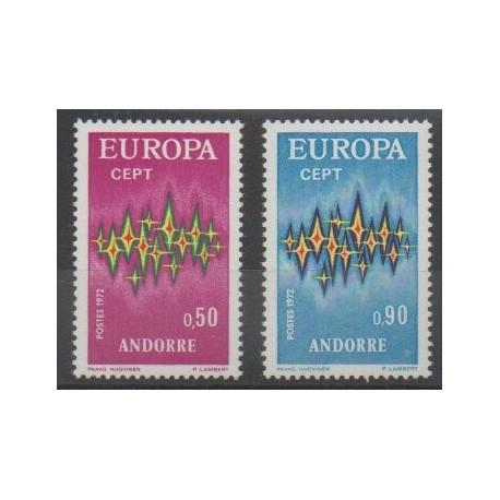 Andorre - 1972 - No 217/218 - Europa
