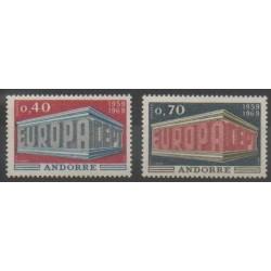 Andorre - 1969 - No 194/195 - Europa