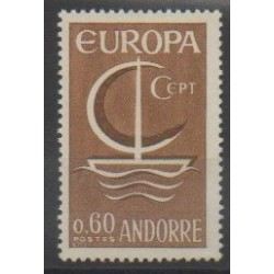 French Andorra - 1966 - Nb 178 - Europa