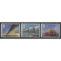 Grande-Bretagne - 1983 - No 1091/1093 - Sciences et Techniques - Europa