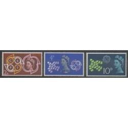 Grande-Bretagne - 1961 - No 362/364 - Europa