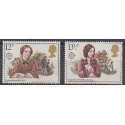 Grande-Bretagne - 1980 - No 937/938 - Célébrités - Europa