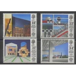 Grande-Bretagne - 1987 - No 1266/1269 - Art - Europa