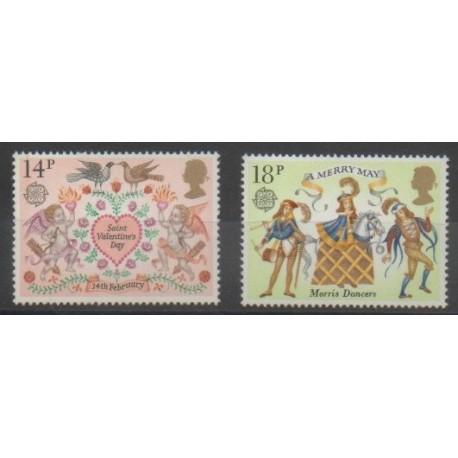 Grande-Bretagne - 1981 - No 972/973 - Europa