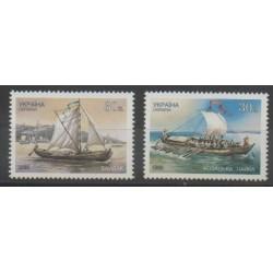 Ukraine - 1999 - Nb 369/370 - Boats