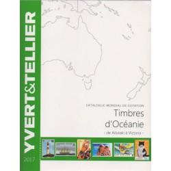 Timbres d'océanie de Aitutaki à Victoria (Edition 2017)