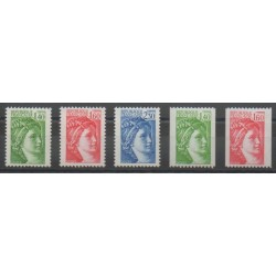France - Poste - 1981 - No 2154/2158