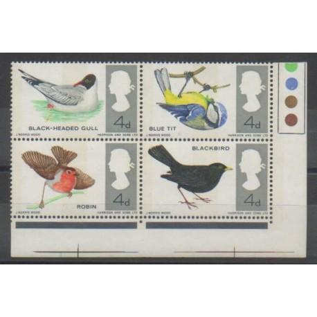 Grande-Bretagne - 1966 - No 447A - Oiseaux