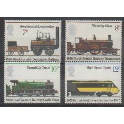 Grande-Bretagne - 1975 - No 760/763 - Chemins de fer
