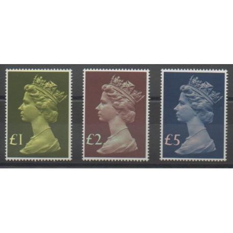 Grande-Bretagne - 1977 - No 822/824