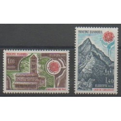 French Andorra - 1978 - Nb 269/270 - Monuments - Europa