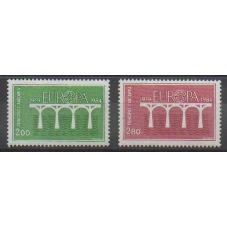 Andorre - 1984 - No 329/330 - Europa