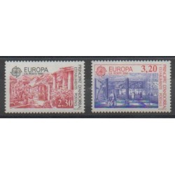 Andorre - 1990 - No 388/389 - Europa