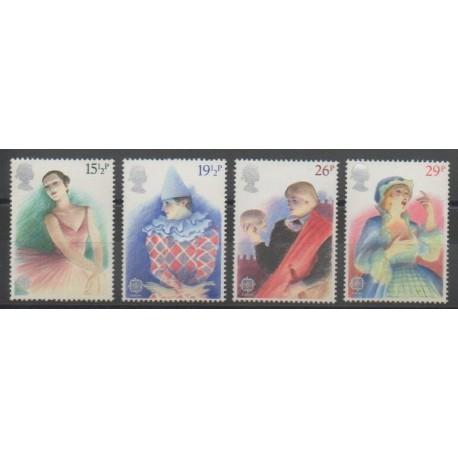 Grande-Bretagne - 1982 - No 1043/1046 - Europa