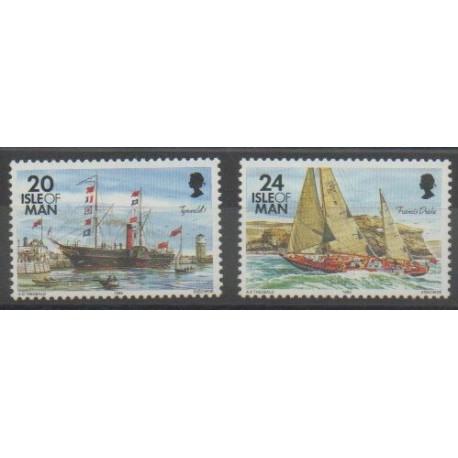 Man (Ile de) - 1995 - No 658/659 - Navigation