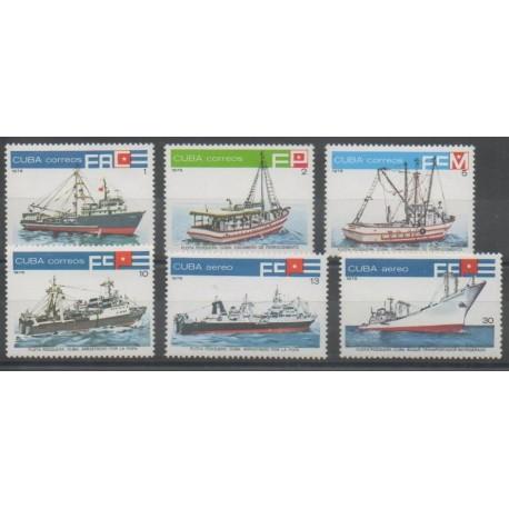 Cuba - 1978 - No 2073/2076 - PA298/PA299 - Navigation