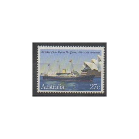 Australie - 1983 - No 821 - Navigation