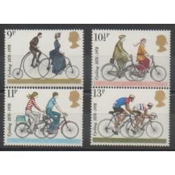Great Britain - 1978 - Nb 872/875 - Transport - Various sports