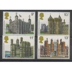 Grande-Bretagne - 1978 - No 859/862 - Monuments