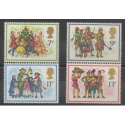 Grande-Bretagne - 1978 - No 876/879 - Noël
