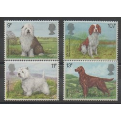 Great Britain - 1979 - Nb 880/883 - Dogs