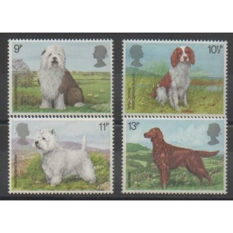 Grande-Bretagne - 1979 - No 880/883 - Chiens