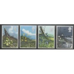Grande-Bretagne - 1979 - No 884/887 - Fleurs