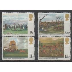 Great Britain - 1979 - Nb 892/895 - Horses