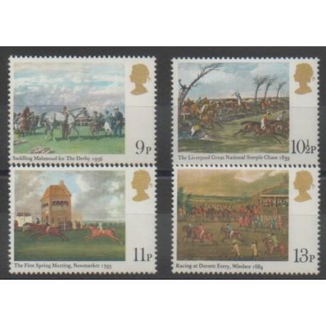 Grande-Bretagne - 1979 - No 892/895 - Chevaux