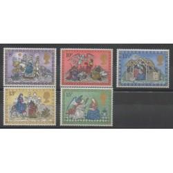 Grande-Bretagne - 1979 - No 917/921 - Noël
