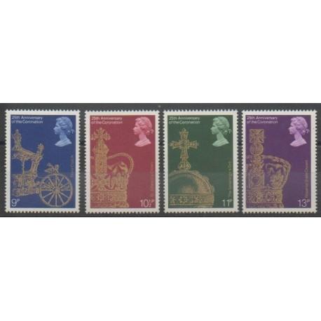 Grande-Bretagne - 1978 - No 864/867 - Royauté - Principauté
