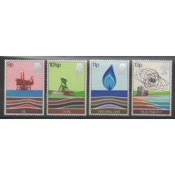 Great Britain - 1978 - Nb 855/858 - Science