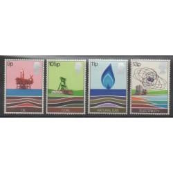 Grande-Bretagne - 1978 - No 855/858 - Sciences et Techniques