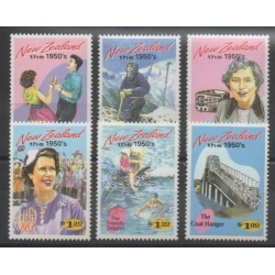 Nouvelle-Zélande - 1994 - No 1277/1282