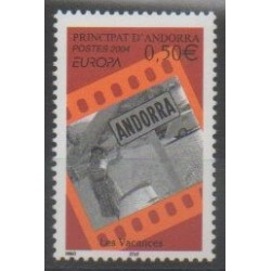 Andorre - 2004 - No 594 - Europa