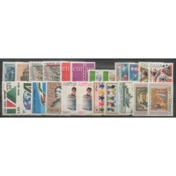 Italie - Année complète - 1971 - No 1068/1090