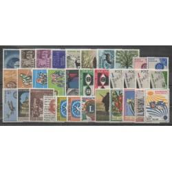 Italie - Année complète - 1967 - No 960/992